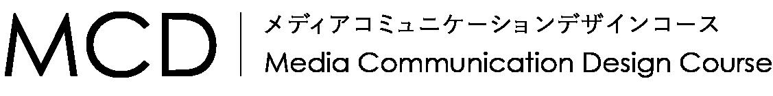 名古屋芸術大学メディアコミュニケーションデザインコースのウェブサイトロゴです